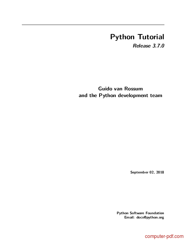 python guide for beginners pdf