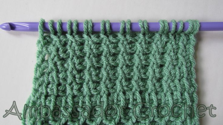 tunisian crochet stitch guide pdf