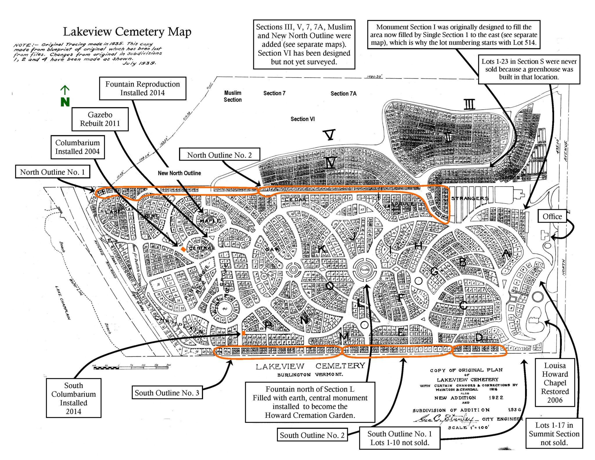 bonaventure cemetery map self guided tour