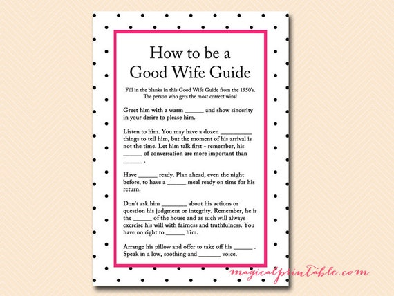 the good housewife guide 1955