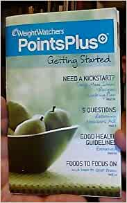 weight watchers points guide book