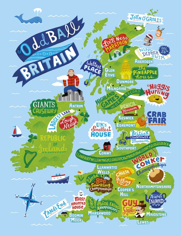 aa illustrated guide to britain