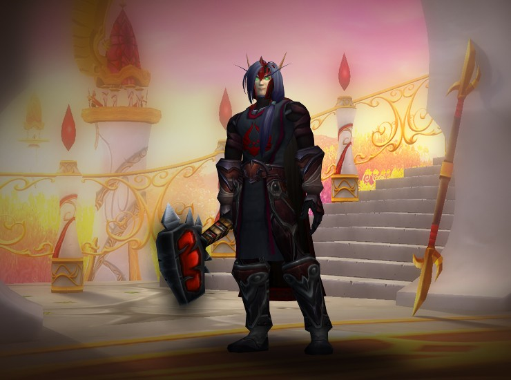 wow blood elf paladin leveling guide
