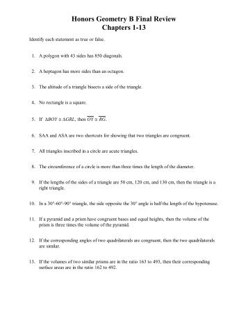 biology final exam study guide answers
