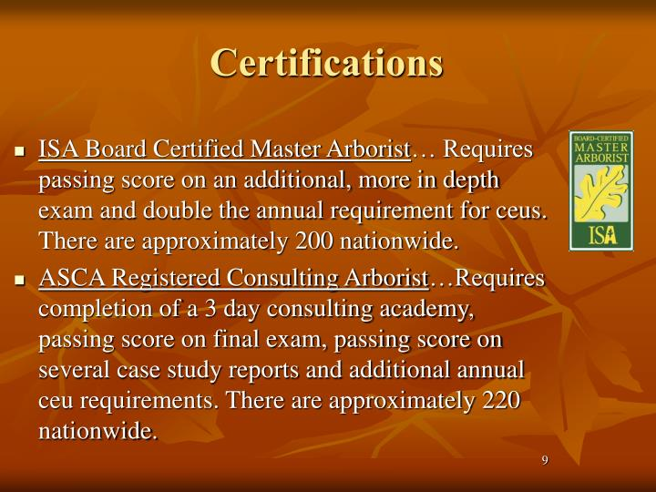 board certified master arborist study guide