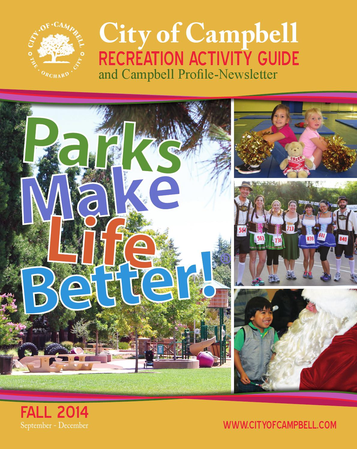 campbell community center activity guide