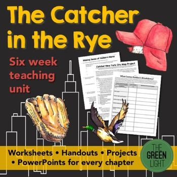 catcher in the rye study guide answers pdf