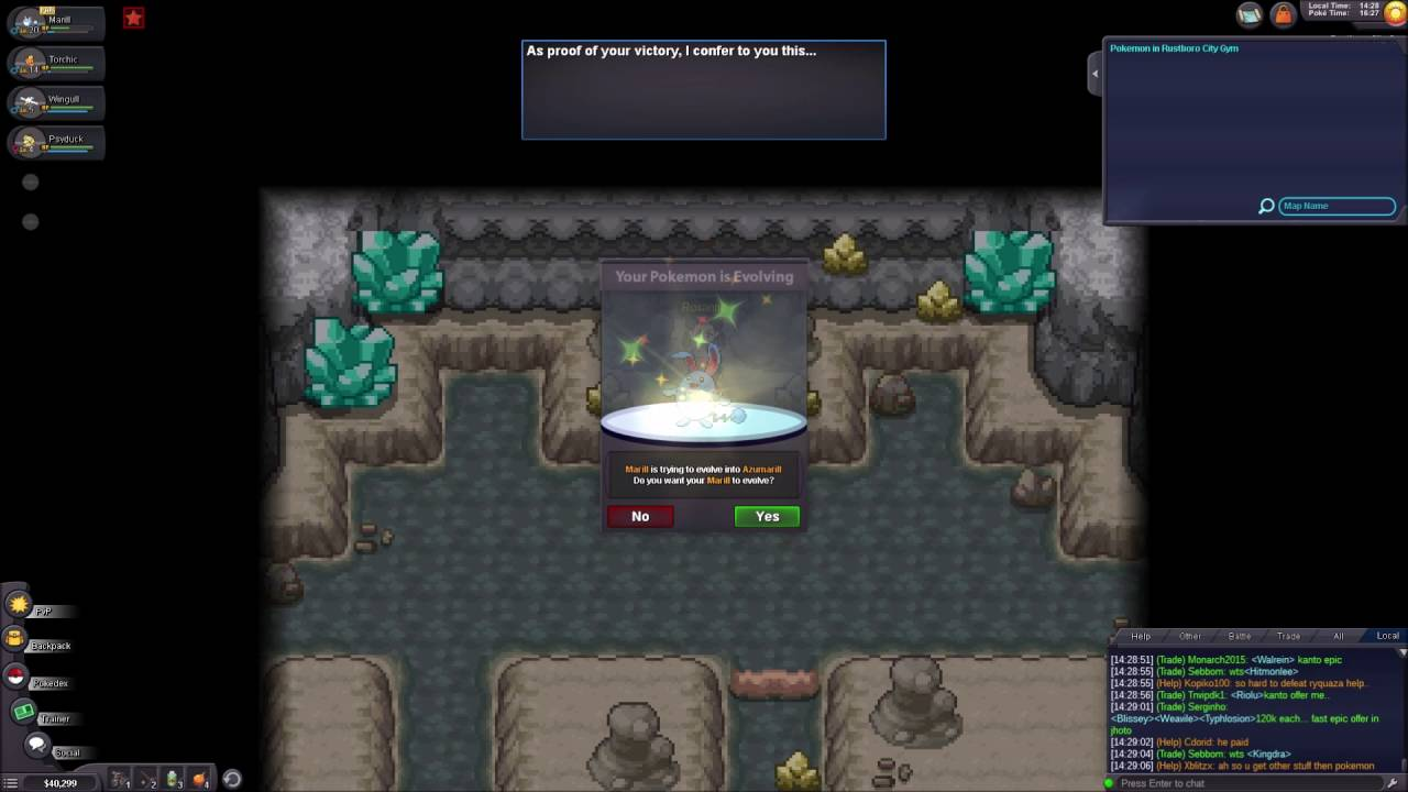 pokemon revolution online hoenn guide