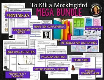 to kill a mockingbird teacher guide