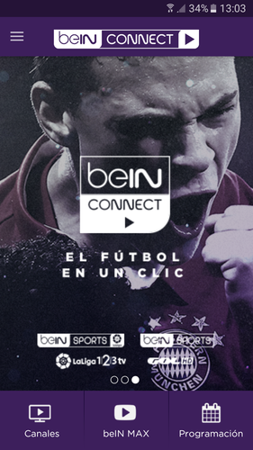 bein sports connect tv guide