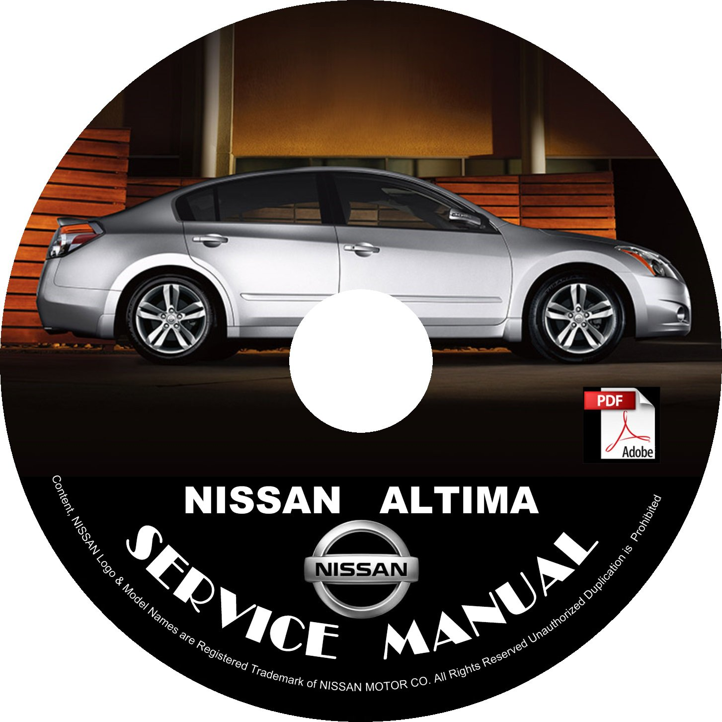 2009 nissan altima service and maintenance guide