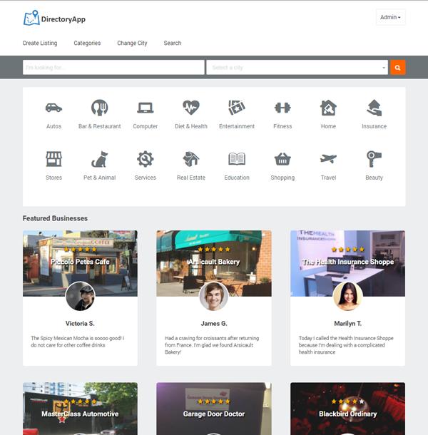 directory app business directory script build a city guide