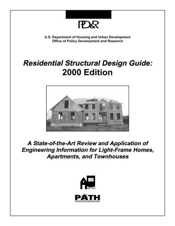 residential structural design guide 2000 edition