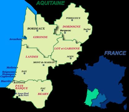 guide touristique sud ouest france