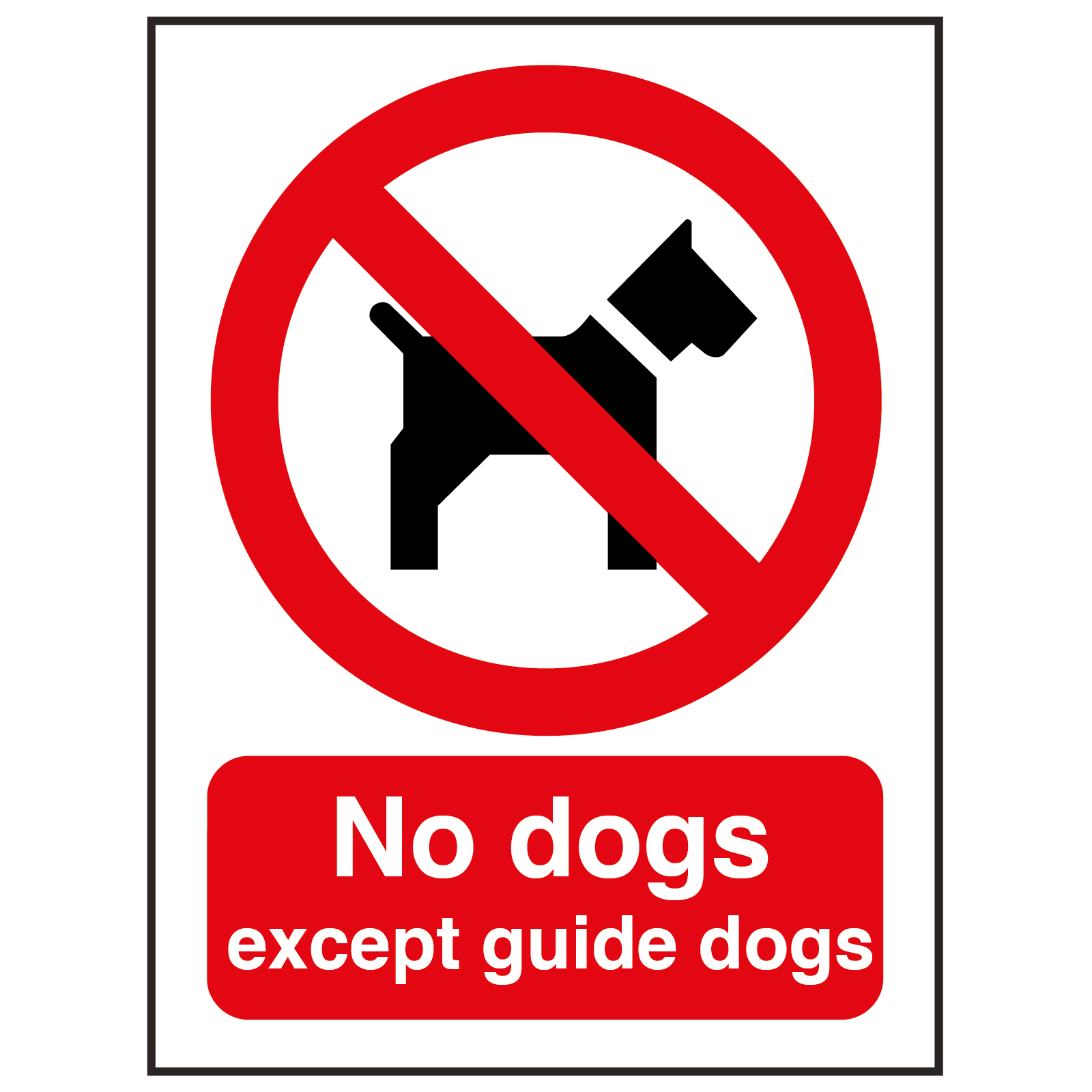 what is a guide sign