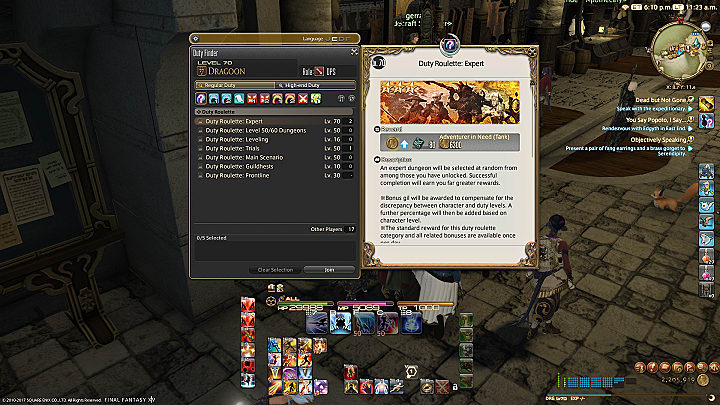 ffxiv leveling guide 50 60