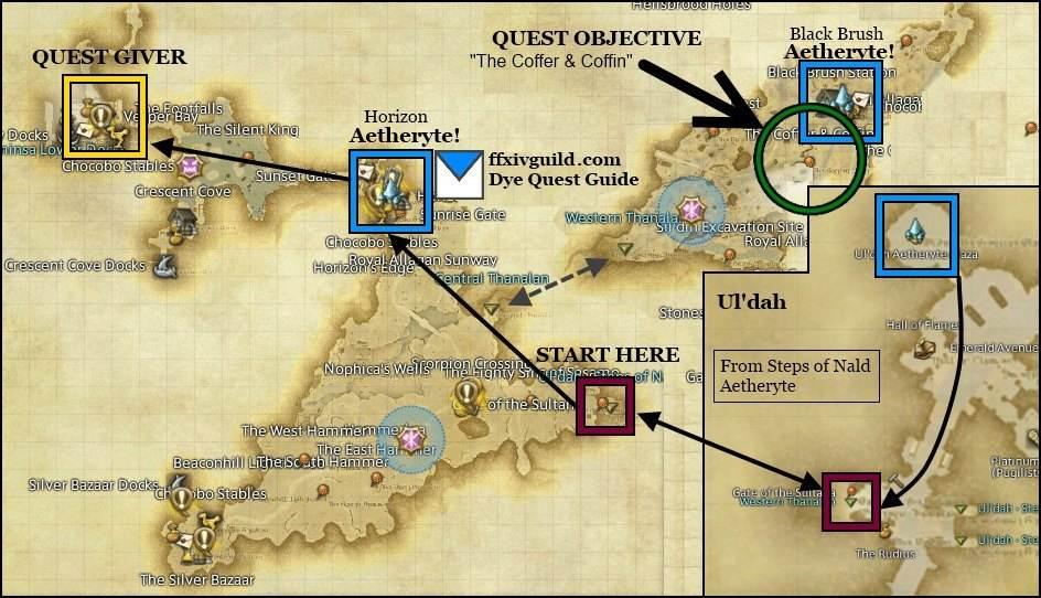 final fantasy 7 map guide