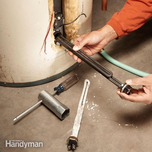 gas hot water heater repair guide