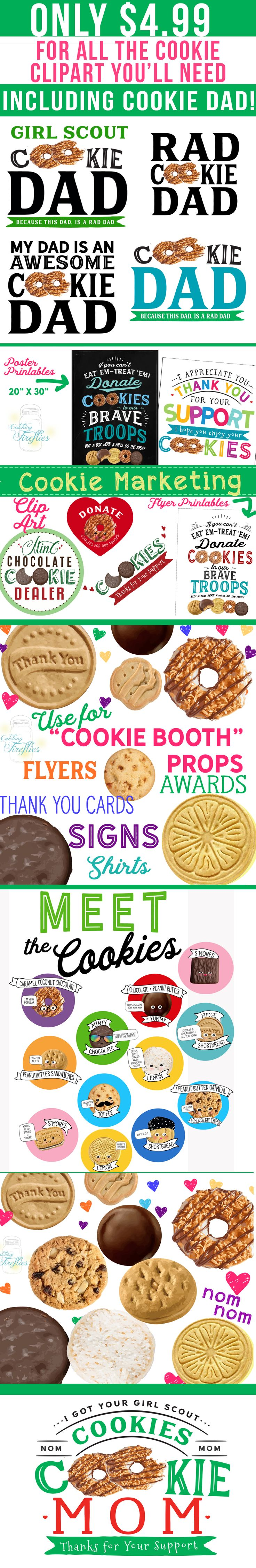 girl guide cookie clip art