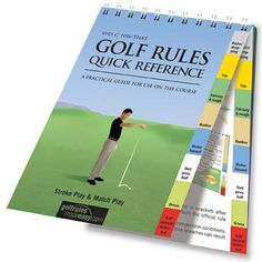 golf instructor quick golf reference guide