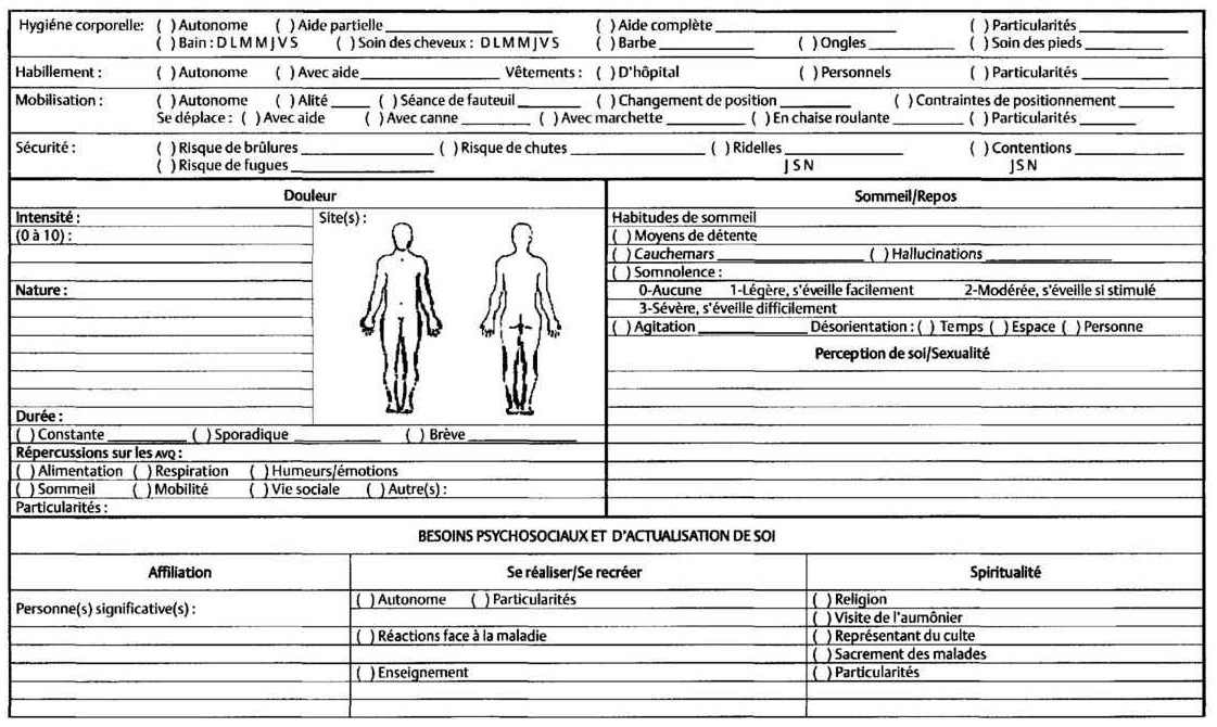 guide clinique en soins infirmiers