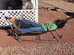 guide gear oversized portable folding hammock