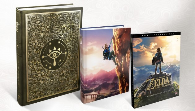 guide officiel zelda breath of the wild