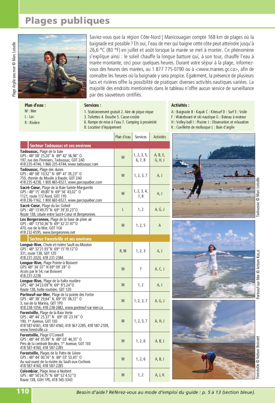 guide touristique officiel cote nord