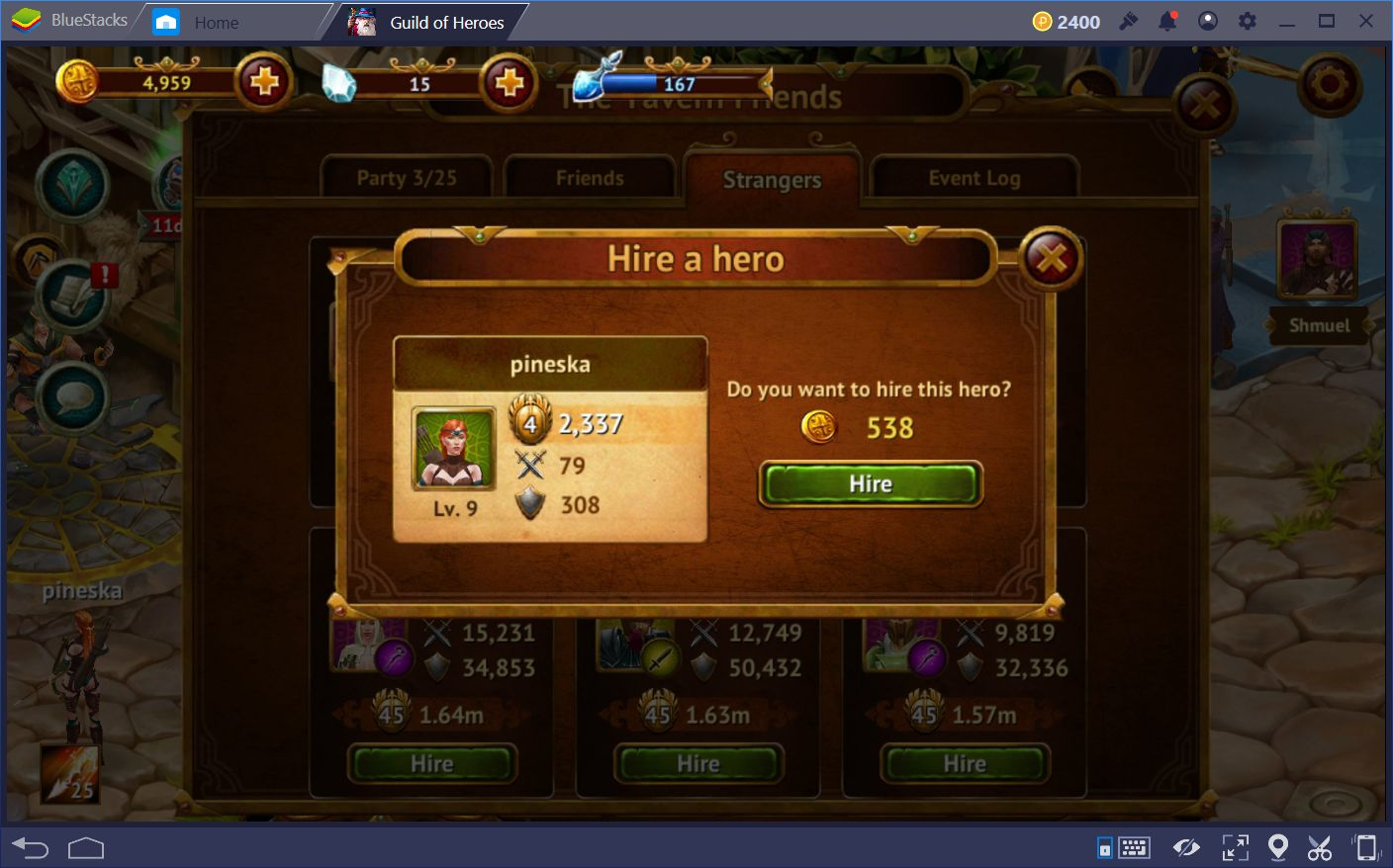 guild of heroes leveling guide