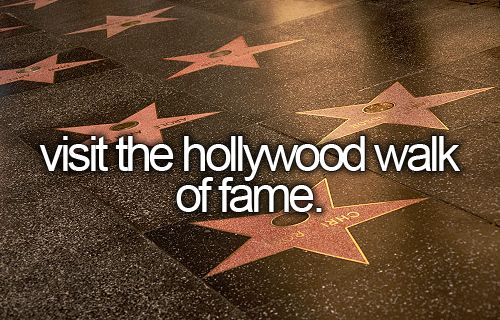 hollywood walk of fame guide