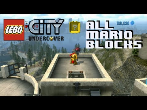 lego city undercover trophy guide