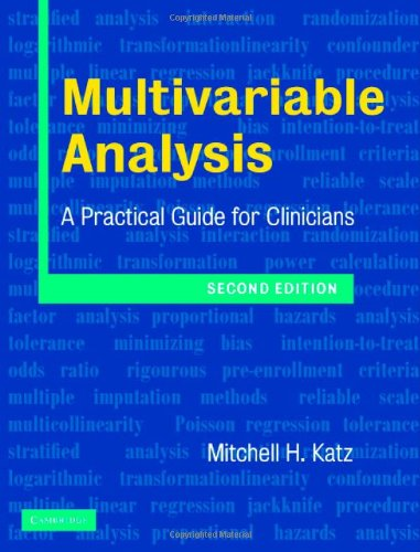multivariable analysis a practical guide for clinicians