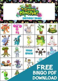my singing monsters full breeding guide