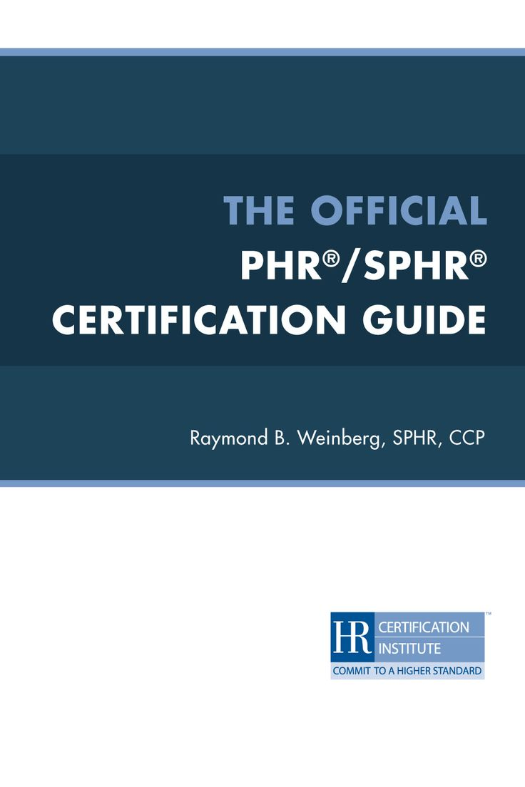 phr certification study guide free download