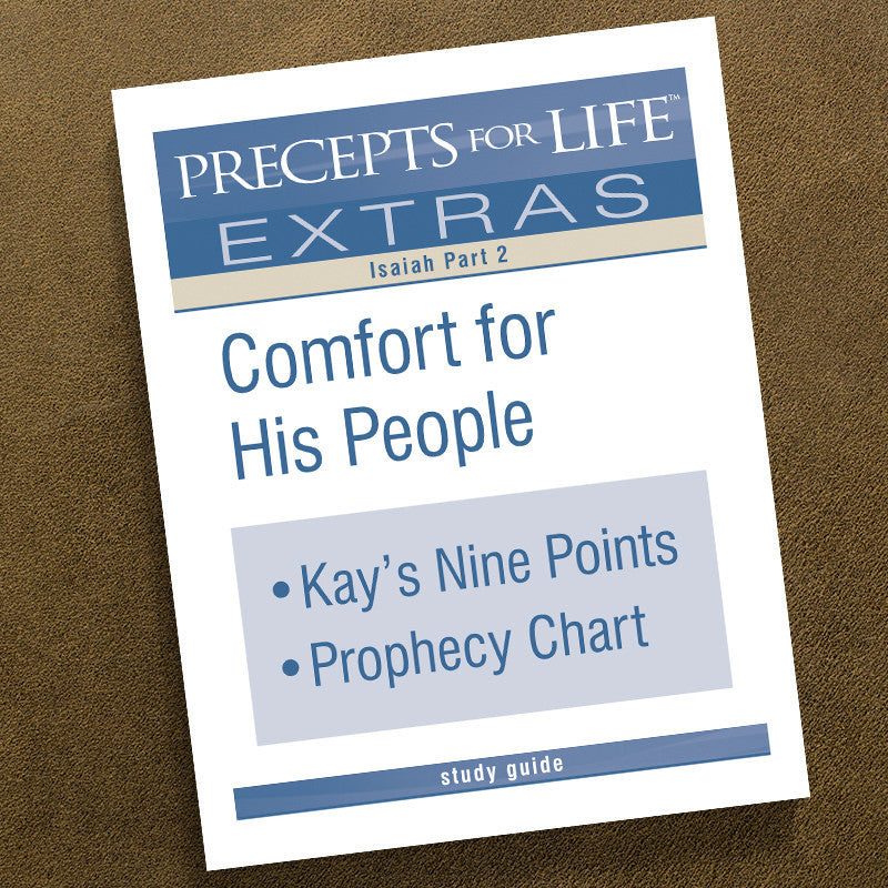precepts for life isaiah study guide