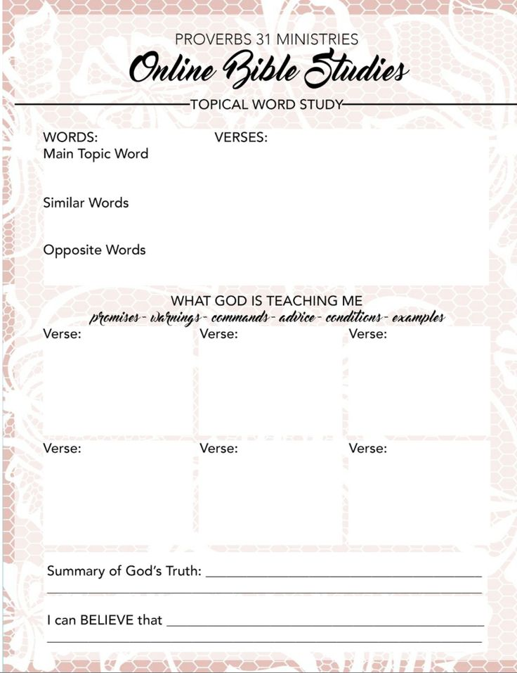 proverbs study guide for youth