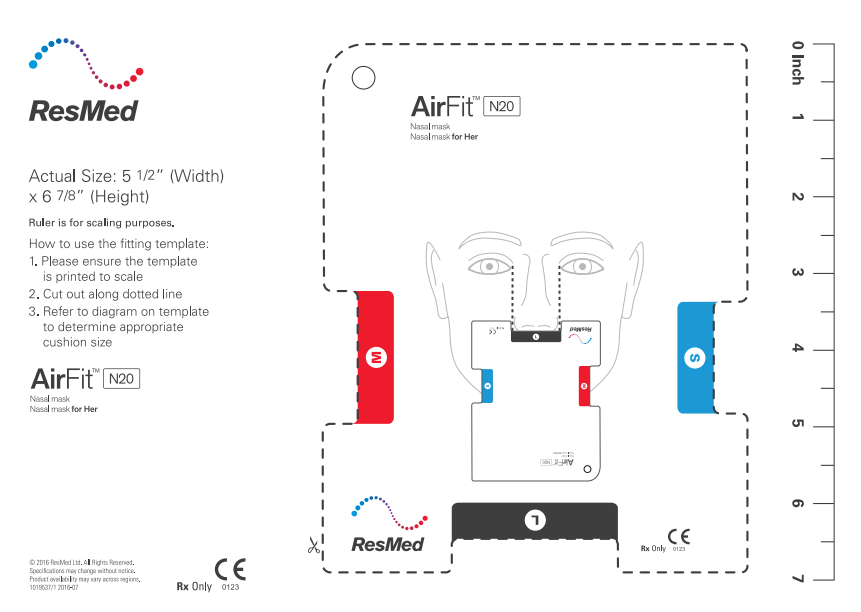 resmed airfit n10 fitting guide