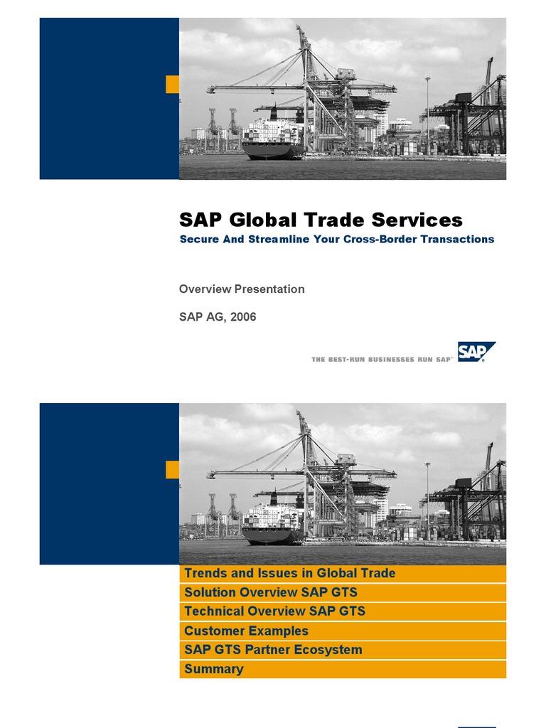 sap gts compliance management configuration guide