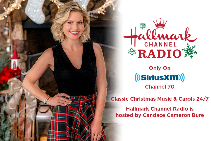 sirius channel guide holiday music