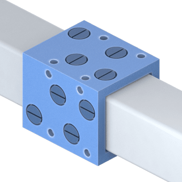 sleeve bearing carriages and guide rails