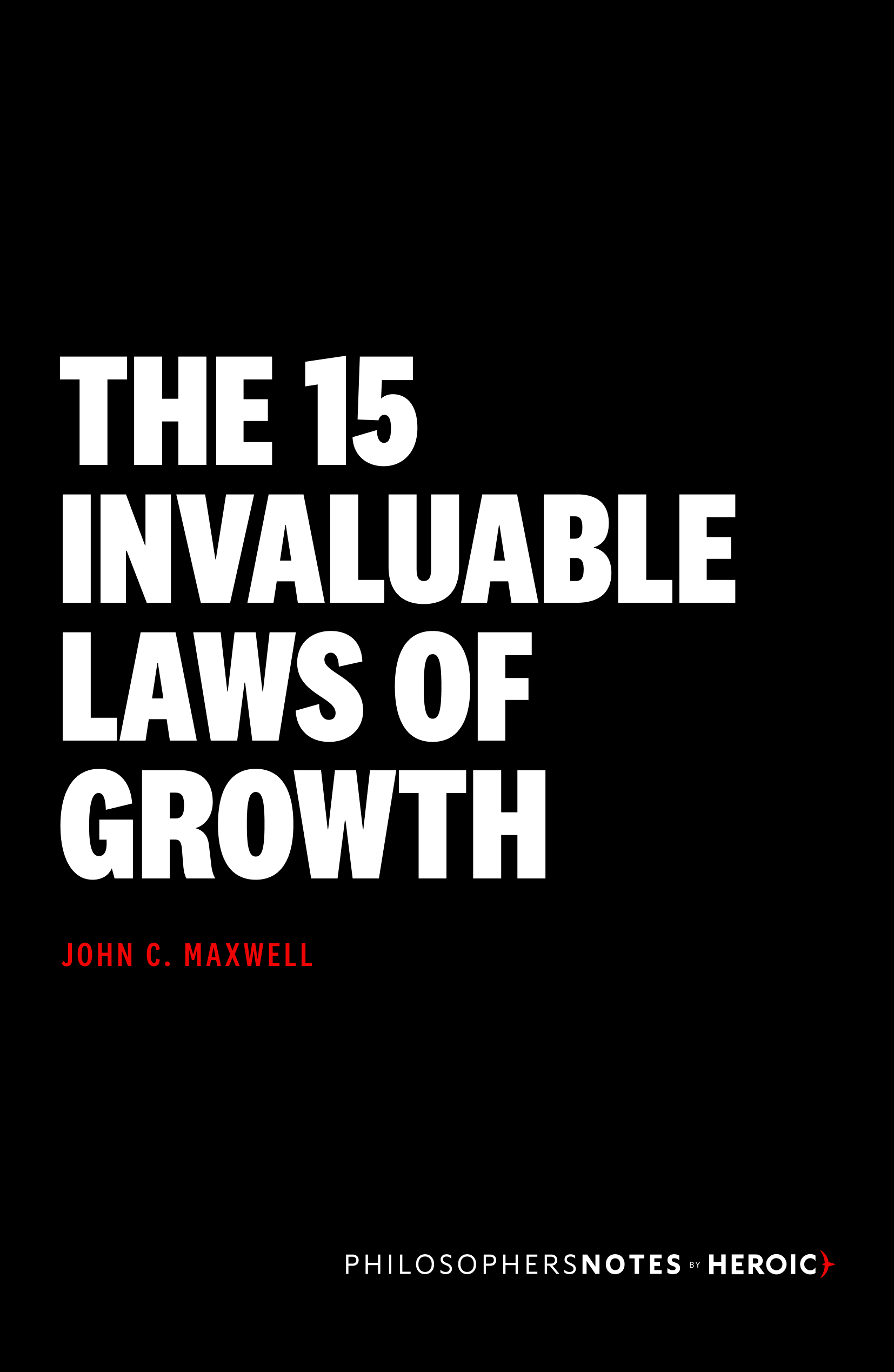 the 15 invaluable laws of growth participant guide pdf