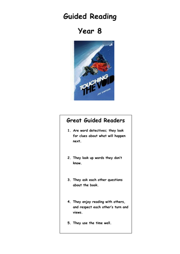 touching the void study guide