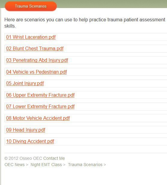 trauma nurse certification study guide