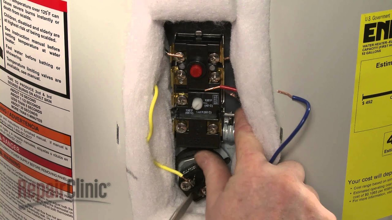 water heater thermostat replacement guide