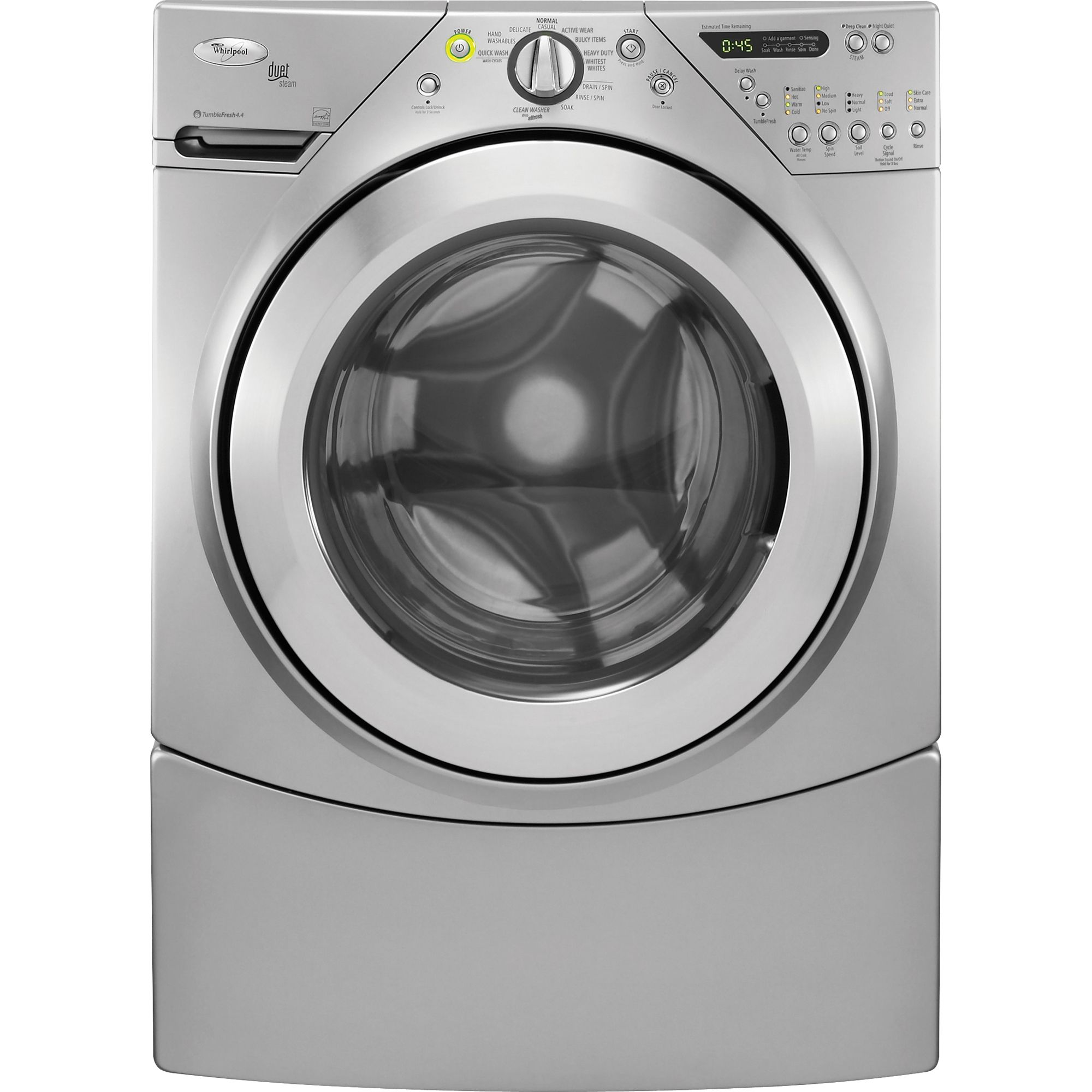 whirlpool duet washer troubleshooting guide