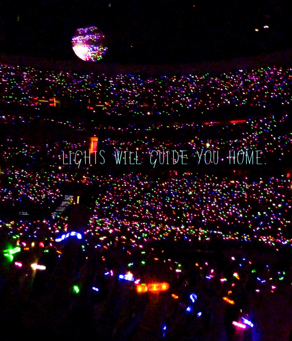 who sings lights will guide you home