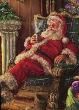 who was chosen to guide santa on christmas eve