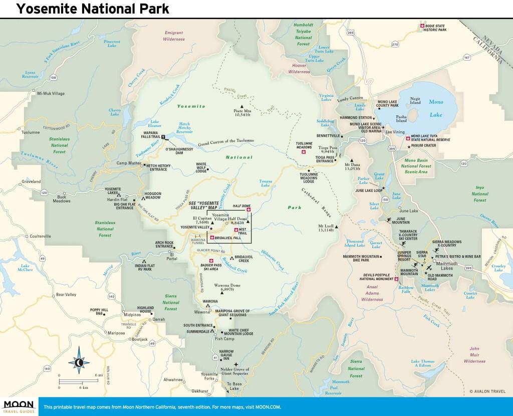 yosemite national park tour guide